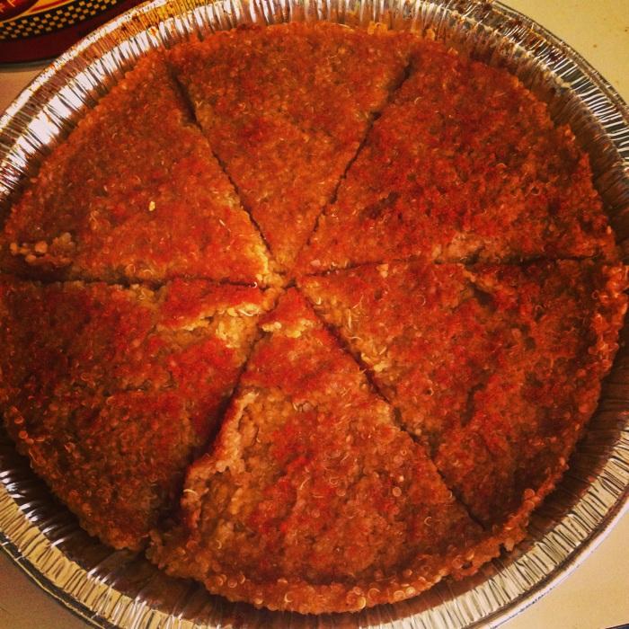 Quinoa-Polenta Pie