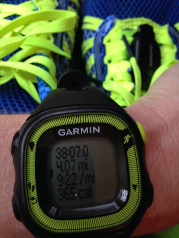 4.07 miles in 38:07