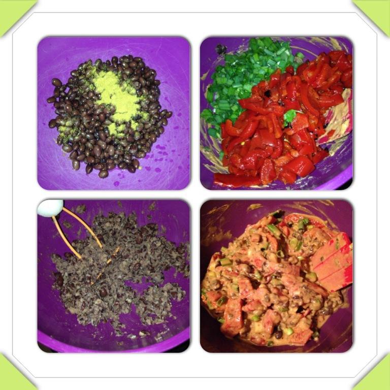 Black bean mixture