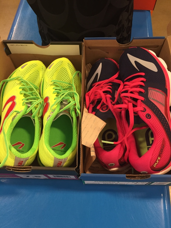 Newton Distance IV and Brooks PureFlow 4