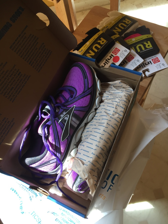 """Brooks PureFlow 1. I lucked into these shoes! The owner at my LRS knew I was desperately searching for PF2s, so when he found a pair of the originals he put them aside for me.  The day I got them (Tuesday) I ran my 2nd fastest 5k ever (27:01) and they felt perfect! Since then the right shoe has been bothering me a little like it's a tad too narrow. I think I just need to adjust the laces to get them """"just right."""" I'm reserving a final opinion until after a few more wears, but they are definitely in the top 5!"""